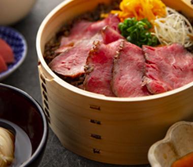 すき焼き弁当と美輪そうめん(ランチ限定)