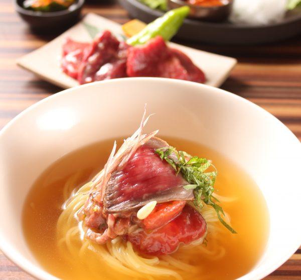 夏の肉麺ランチセットイメージ