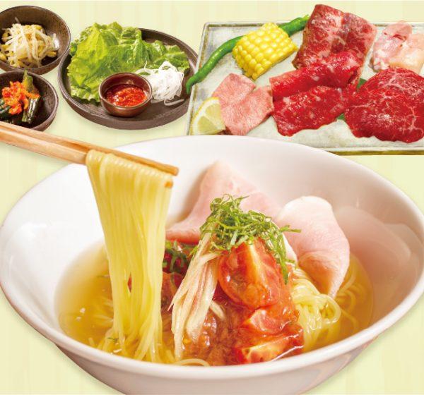 百欒夏の麺ランチ